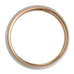 ニナリッチ 指輪 マリッジリング ペア プラチナゴールド ストレート レディース 刻印無料