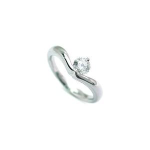 ダイヤモンド 指輪 プラチナ リング ダイヤ デザイン リング レディース ソリティア 人気 鑑定書付き エクセレントカット 0.25ct
