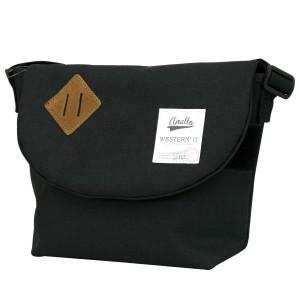 anello アネロ 杢調生地 スモールサイズ メッセンジャーバッグ (au-a0131/au-a0131p) メンズ レディース バッグ 小物 ブランド雑貨 男女