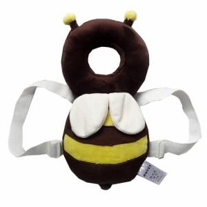 [WHAQS]ベビー ヘルメット セーフティー 室内 乳幼児用 ハイハイ よちよち用 適した年齢4-24ヶ月 かわいい天使の羽 (Coffer)