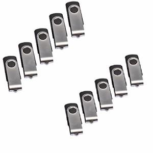 Winten WT-UF20L10-256MB USB 2.0 Flash Memory 256MB ( 10pcs set )回転式USBフラッシュメモリ (10個パック ) ブラック