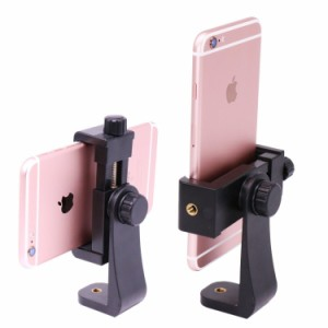 Balckcase スマートフォン用ホルダー iPhone用三脚スタンド スマホスタンド 写真撮影/YouTube用 Nexus/iPhone/Sony/KYOCERA/Motorol