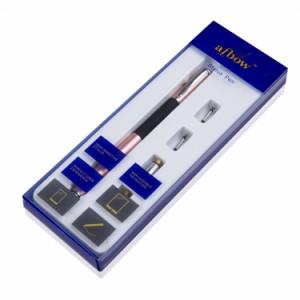 aibow タッチペン スマートフォン タブレット 1本+ペン先4個 (ローズゴールド)