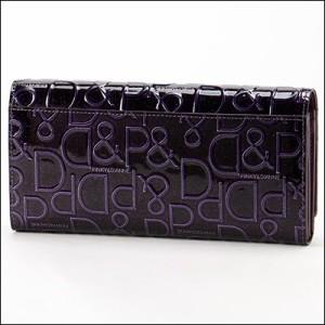 ピンキー&ダイアン ドルチェ 薄型長財布 ブラック