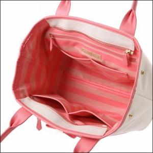 サマンサタバサ 正規品 美人百花コラボ キャンバストートバッグ ピンク
