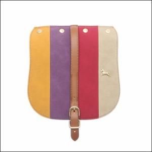サマンサベガ ハンドバッグ着せ替え用フラップ パッチワーク キャメル