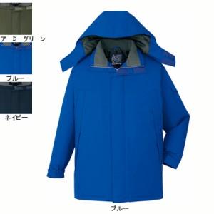 防寒着 防寒ブルゾン 自重堂 48433 防水防寒コート(フード付) XL