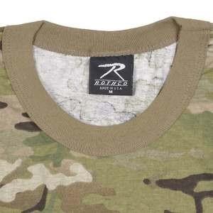 Rothco Tシャツ 半袖 マルチカム 6286