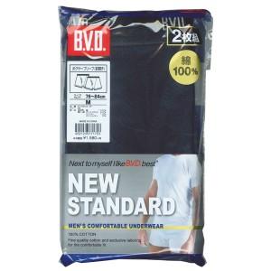 【メール便送料無料】B.V.D. NEW STANDARD ボクサーパンツ 2枚組 アンダーウェア メンズ 綿100%EY700