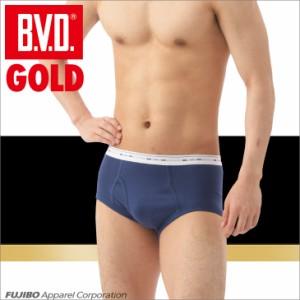 B.V.D.GOLD 天ゴムスタンダード カラーブリーフ 2枚セット M,L  BVD 【綿100%】  メンズ インナー 下着 メンズG042-2P