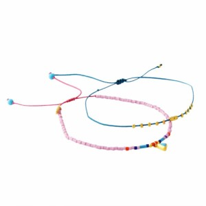 CHAN LUU チャンルー BG-5254 D LK MIX Dainty Bracelet シングルブレスレット 2本セット