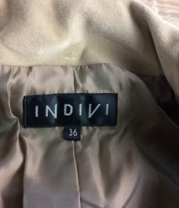 インディヴィ SIZE 36 (XS以下) ベロア ジャケット INDIVI レディース【中古】