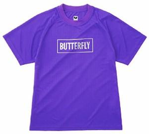 バタフライ(Butterfly) 卓球 BL Tシャツ 44940 バイオレット(245) XO