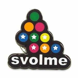 SVOLME(スボルメ) ロゴピンバッジ 162-18329 Fサイズ ミックス