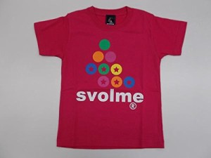 SVOLMEスボルメ ロゴTシャツJ 120cm 163-92510 [070] PINK(ピンク)