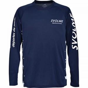 SVOLME RUNNING(スボルメ ランニング) ロングスリーブランシャツ 164-36700 Sサイズ ネイビー