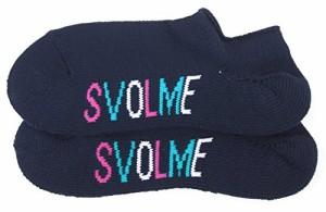 SVOLME(スボルメ) ロゴフットカバー 171-29922 25-27センチ ネイビー