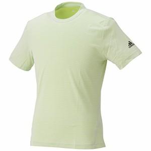 (アディダス)adidas ランニングウェア 叶衣 Q2 半袖Tシャツ BCL84 [メンズ] AH9950 ホワイト/セミソーラースライム J/O