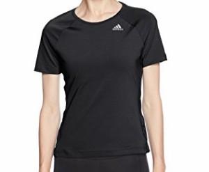 (アディダス)adidas スポーツウェア D2M トレーニング ベーシック半袖Tシャツ BXJ01 [レディース] BXJ01 BK2688 ブラック J/S