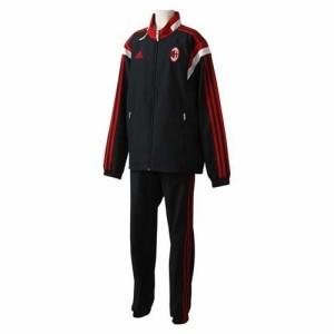 adidas(アディダス) KIDS ACミラン トレーニング プレゼンテーションスーツ(ジュニアサイズ) BLK/ビクトリーRE F83753 J140