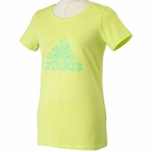 (アディダス)adidas W Graphic フラワーロゴ Tシャツ KAZ47 S91375 ライトフラッシュイエロー S15 J/L