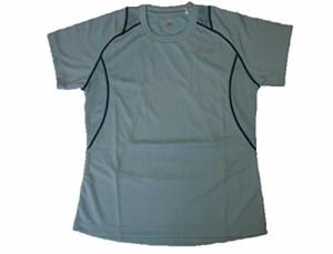 asics(アシックス) ランニングTシャツ Oサイズ XX710N (38)ブルーミスト