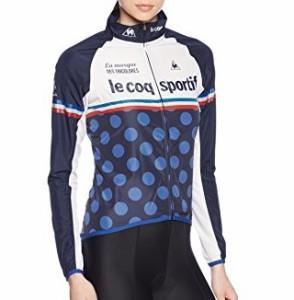 (ルコックスポルティフ)le coq sportif サイクリング ウインドジャケット QC-575161 [レディース] NVY S