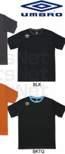 アンブロ(UMBRO)JR ワンポイントCネックS/Sシャツ BLK-130