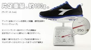 《送料無料》ディアドラ 【DIADORA】メンズ SWAN + 172856 1802 ランニング  スニーカー 軽量 定番