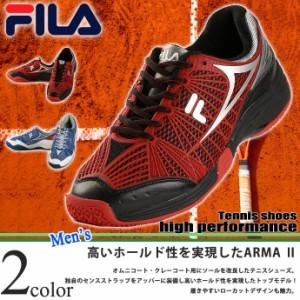 フィラ【FILA】メンズ テニスシューズ アルマ 2 9YSHT017 1804 オムニ クレー