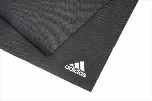 adidas (アディダス) ヨガマット 4mm ブラック ADYG10400 1705