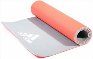 adidas (アディダス) ヨガマット 6mm レッド ADYG10600 1705