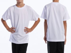 父の日 ギフト WUNDOU (ウンドウ) ドライライトTシャツ ネイビー P-330J 1710 キッズ ジュニア 子供 子ども