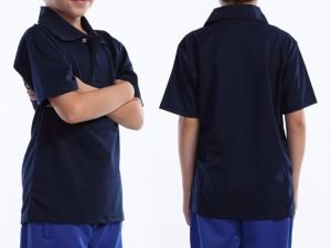 WUNDOU (ウンドウ) ドライライトポロシャツ ブラウン P-335J 1710 キッズ ジュニア 子供 子ども