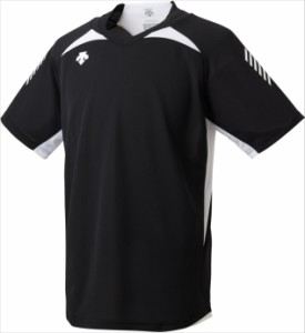 DESCENTE (デサント) 半袖プラクティスシャツ DVULJA50 BWH 1801 【メンズ】【レディース】【男女兼用】