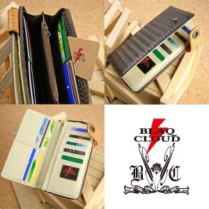 BLAQ CLOUD/ブラック クラウド ラウンドファスナーサイドオープンロングウォレット 財布 メンズ/財布 メンズ ブランド/財布 メンズ