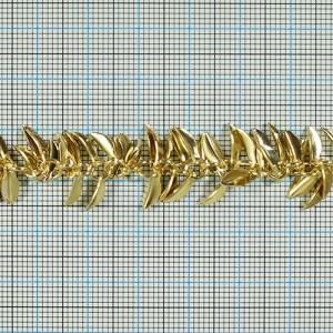 チェーン N-1020 1m ゴールド ロジウム シルバー アンティーク 古美 メッキ 真鍮 金