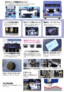 卓上精密彫刻機 Magic-70 マジック70 平面 切断 曲目 電動彫刻機 CNC切断彫刻機