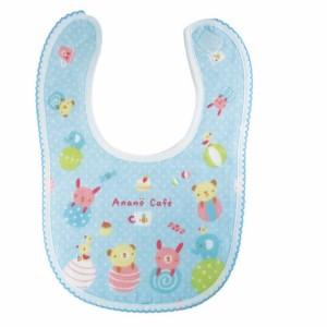(anano cafe) AC.ベビーJOYガーゼスタイ(54588-54589)(送料無料) (ベビー用品、食事用、よだれかけ、お食事エプロン
