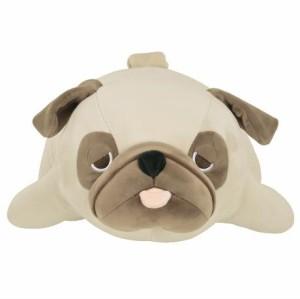 【プレミアムねむねむアニマルズ】抱きまくら Lサイズ【種類:パグのハナ (48768-32) 】 【送料無料】(イヌ、いぬ、犬、ドッグ、抱