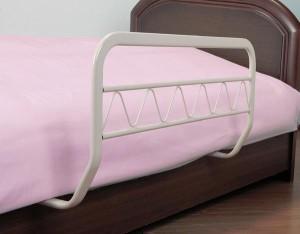 ベッドガード 1個 ナチュラル/ブラウン   (送料無料) (寝具、ベッドガード、インテリア雑貨)