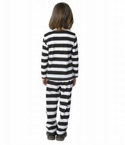 COS プリズナーダラー 100 ≪トップス、パンツ  ≫【送料無料】(キッズファッション、子ども用コスプレ衣装、キャラクター、ハロウィン