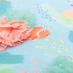 【eleu】カクレクマノミBigポーチ (E168179)【送料無料】  (ポーチ、化粧ポーチ、収納、小物入れ)