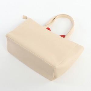 (おすましプーちゃん)リボンポーチ付2wayミニトート(2017秋冬)(P171110) (バッグ、鞄、かばん、トートバッグ、ショッピングバッグ