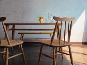 ダイニングチェア(ナチュラル)【NO-07】 (NORN DINING CHAIR) 【送料無料】(木製、ダイニングチェアー、イス、椅子、キッチ