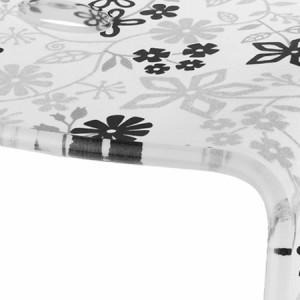 風呂椅子 バスチェアー Sサイズ フィルロ フラワー ブラック【送料無料】(風呂椅子、イス、バスチェアー、シャワーベンチ、バススツ