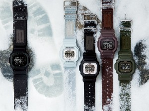 G-SHOCK Gライド メンズ 腕時計 GLS-5600CL-5 Gショック ブラウン ブラック クロスバンド
