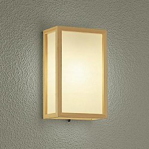 DAIKO LEDブラケットライト ランプ付 防雨形 白熱灯60W相当 非調光タイプ 6.6W 口金E26 電球色タイプ DWP-38866Y