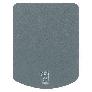 サンワサプライ マウスパッド タテ形タイプ 超小型サイズ グレー MPD-T1GY