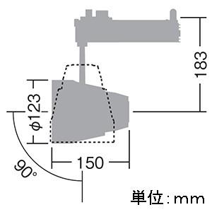 DAIKO LEDスポットライト LZ4 モジュールタイプ CDM-T70W相当 非調光タイプ 配光角30°温白色タイプ LZS-91282AWE